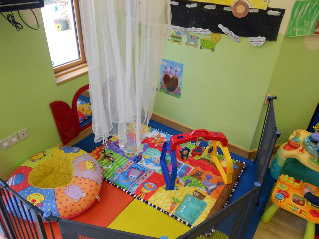 Childcare Baby Room Mirrors